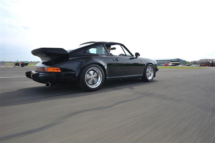 My Porsche 911 at the airfield