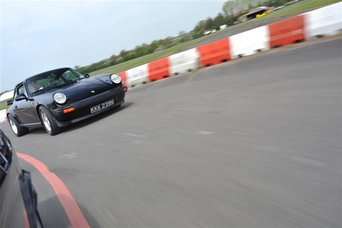 My Porsche 911 at the airfiled
